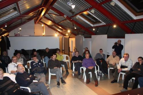 2011 Dicembre - Giovanni Bracco in dibattito al Club Nautico Gabbiano