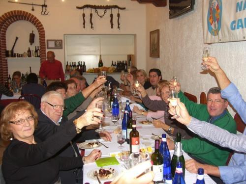 2012 Dicembre - pranzo sociale al Gufo Nero